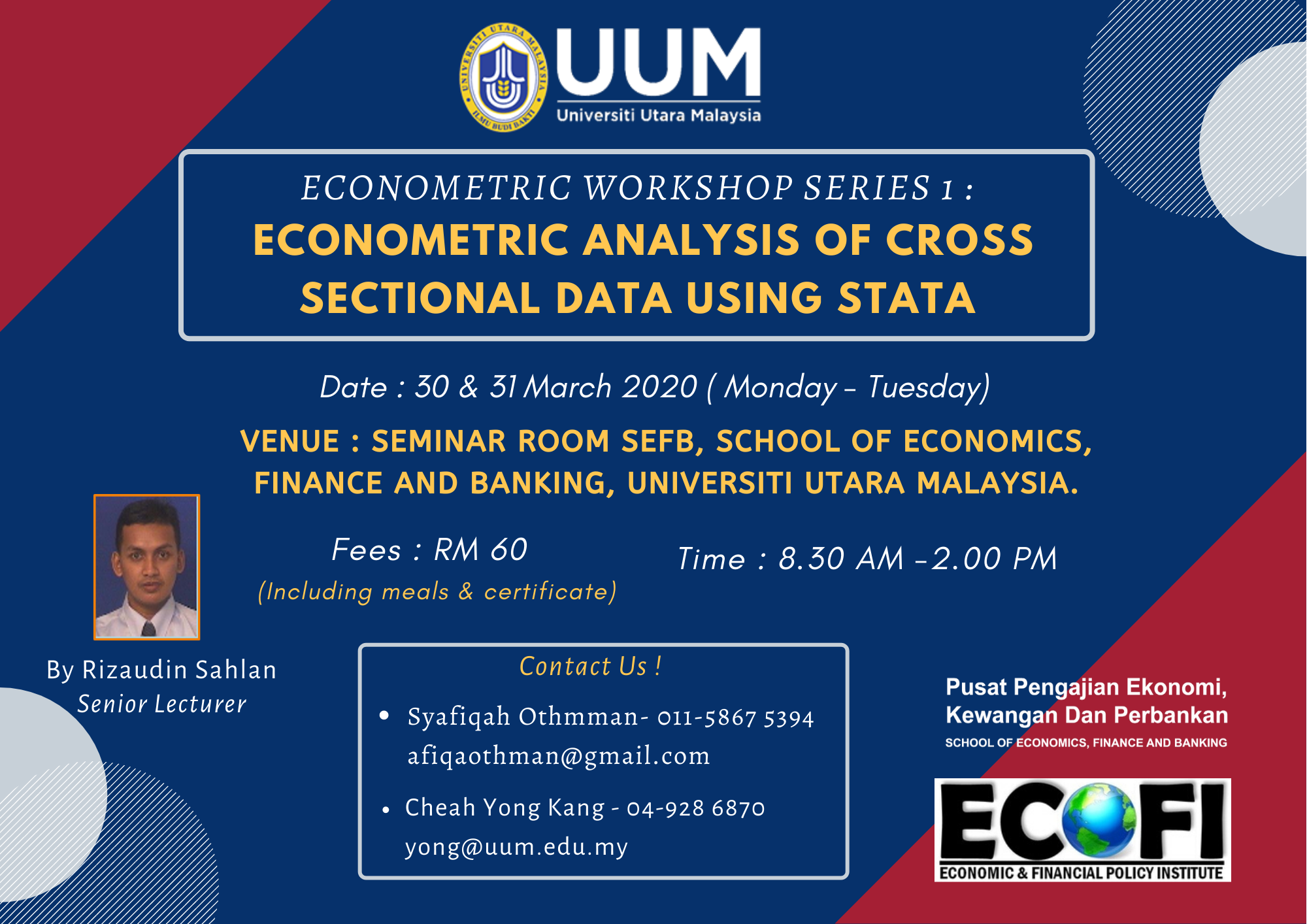 Flyer Econometric workshop